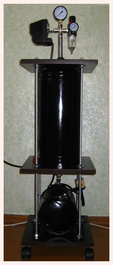 Самодельный компрессор или Made by Belarus