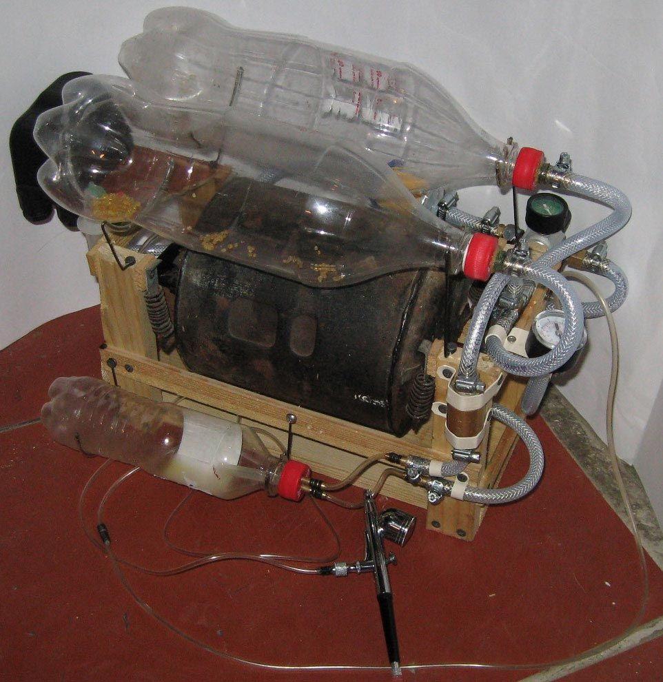 Самодельный компрессор - Андронный коллайдер собственными руками