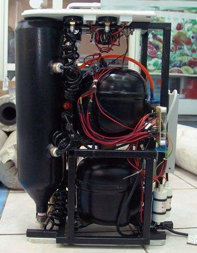 Самодельный компрессор на двух двигателях