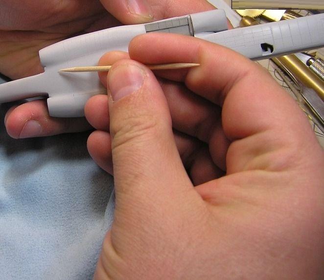 Режем расшивку вместе (panel lines scribing)