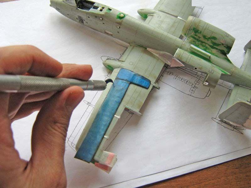 Расшивка с использованием шаблонов и подручного режущего инструмента