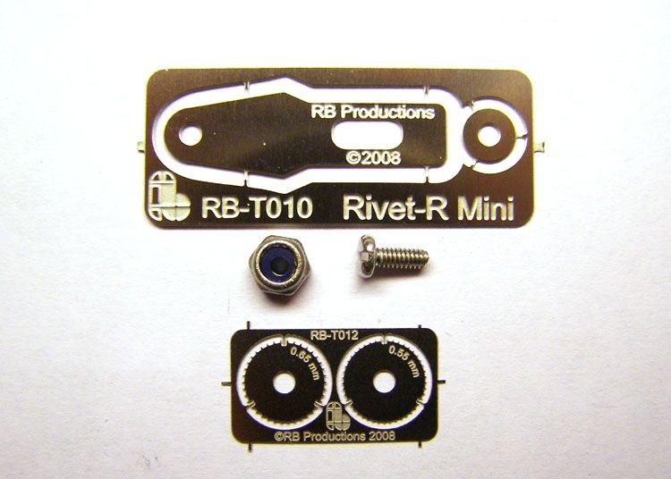 Обзор RB Production Riverter, Scriber - риветер и скрайбер